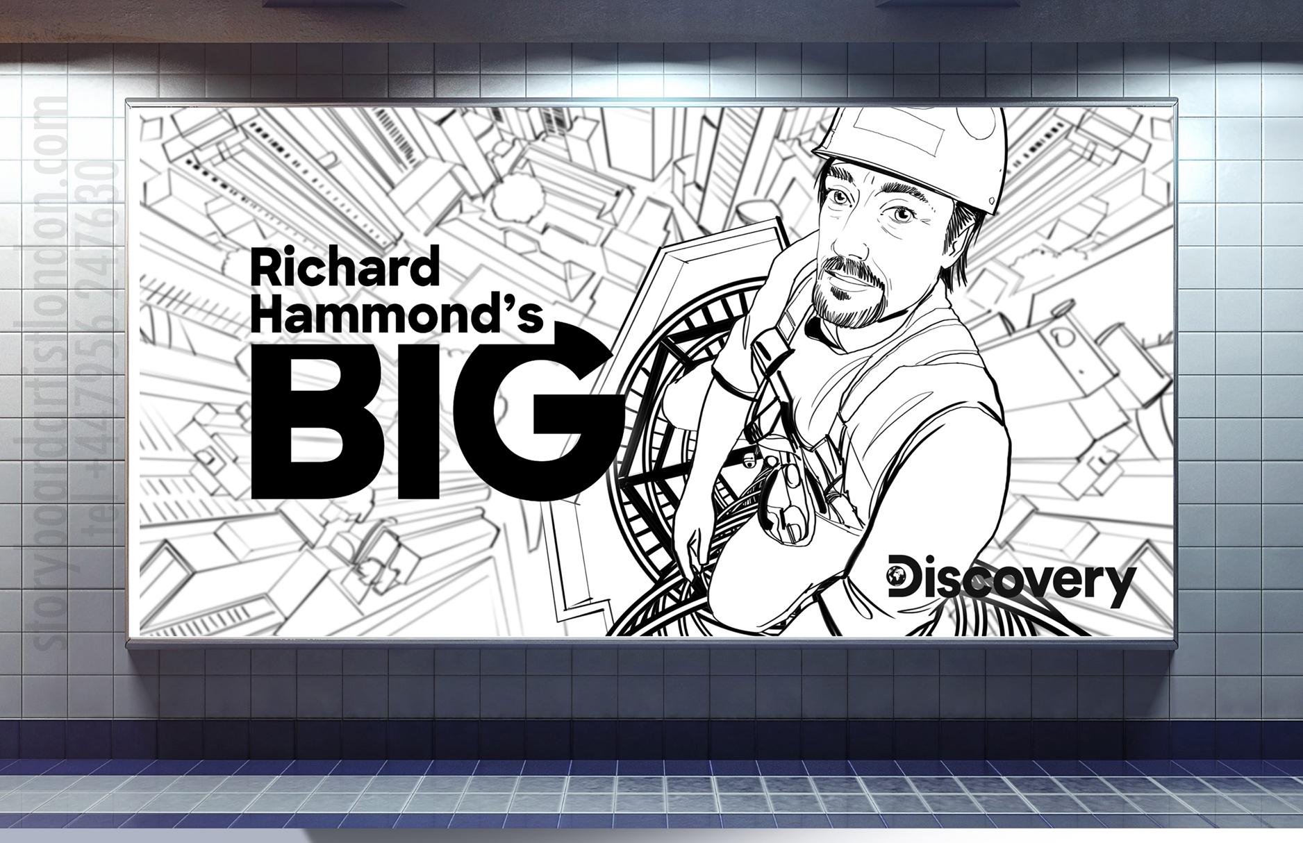 storyboard london Hammond Big