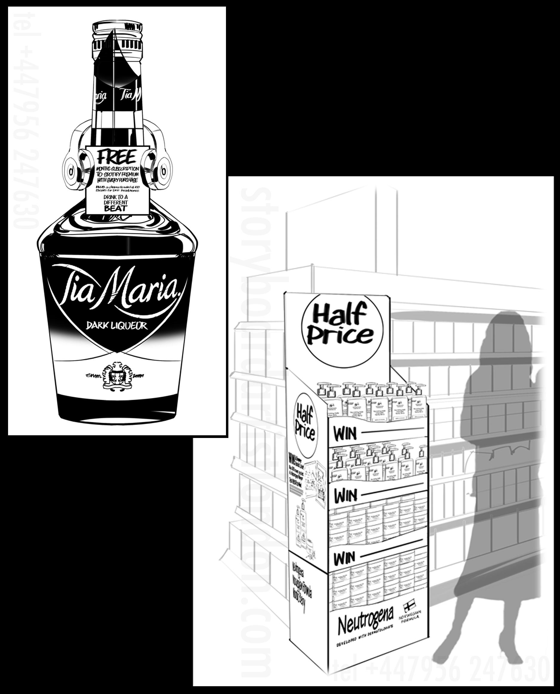 Freelance storyboard artist London art director scamp